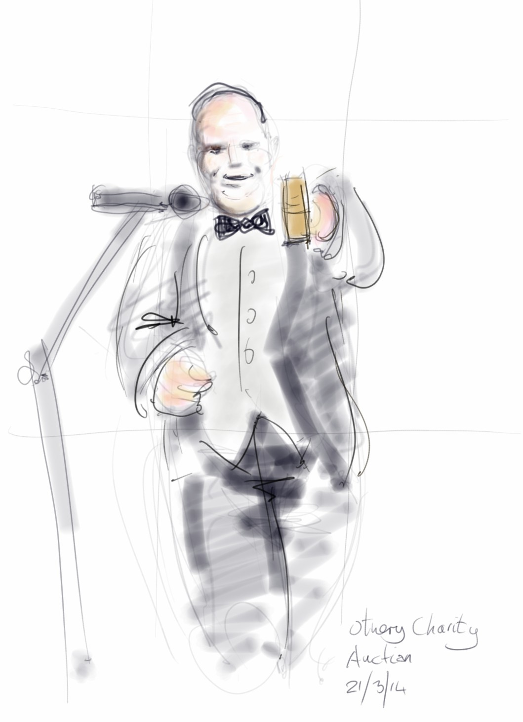 auctioneer sketch
