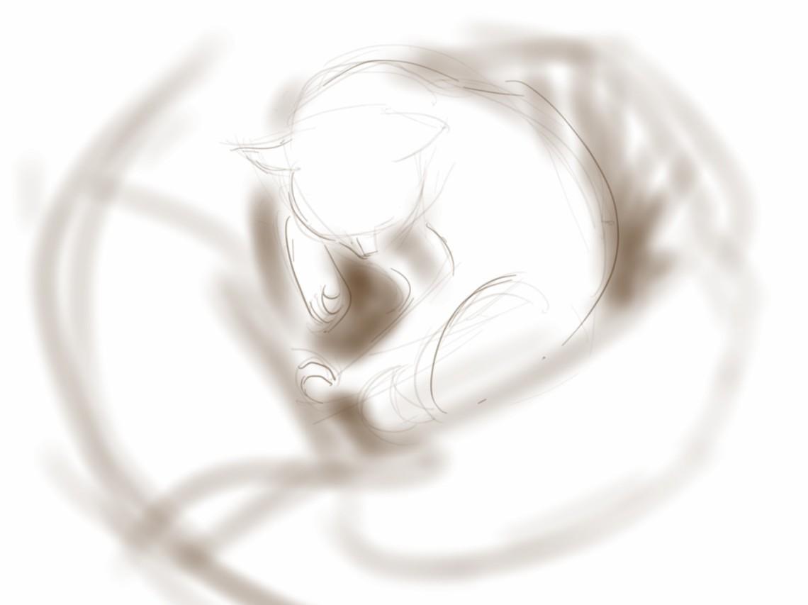 Percy, restless