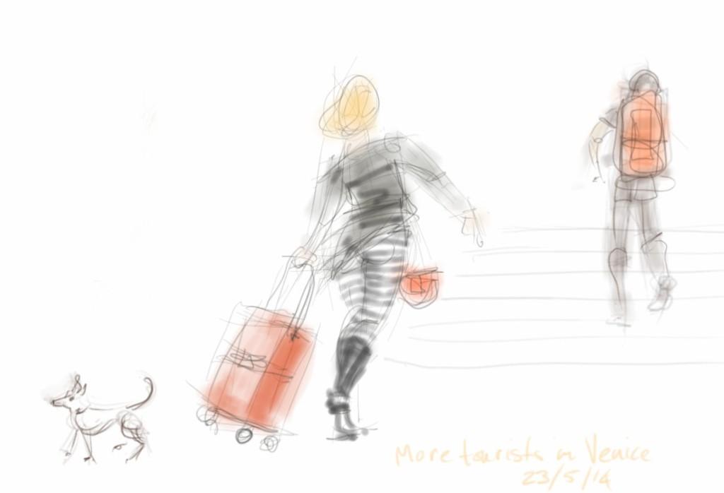 A micro-dog in Venice