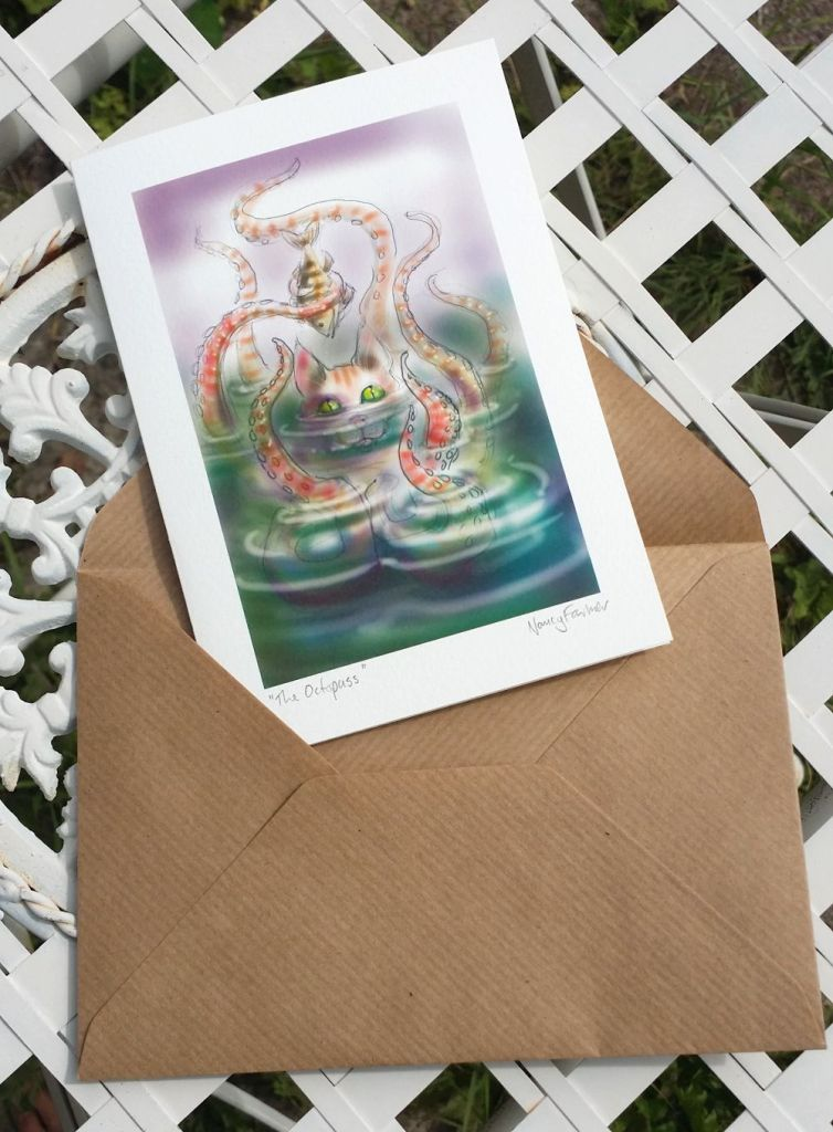 greetings card: The Octopuss