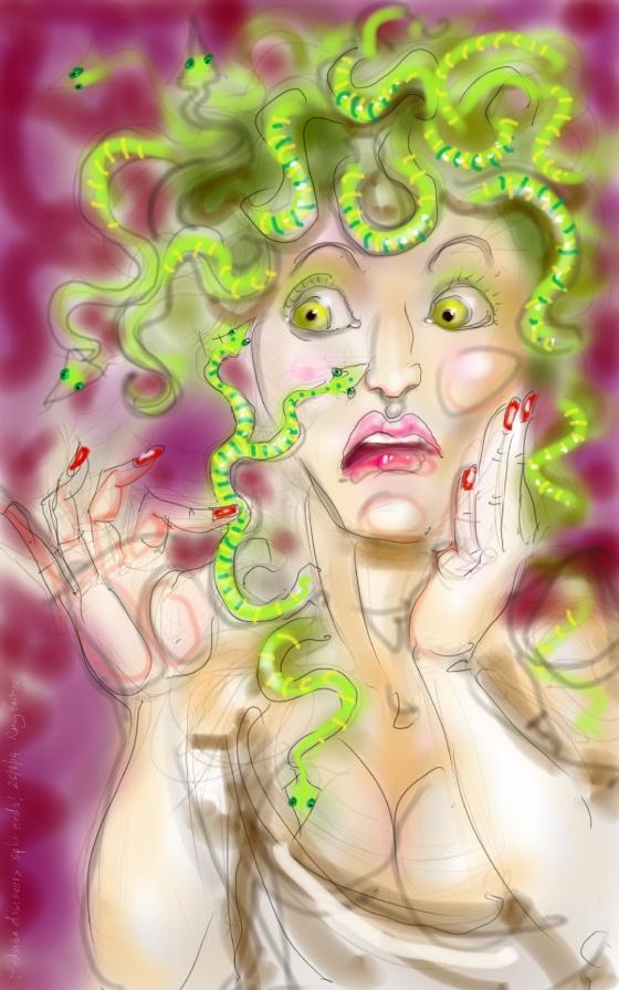 Medusa's split ends