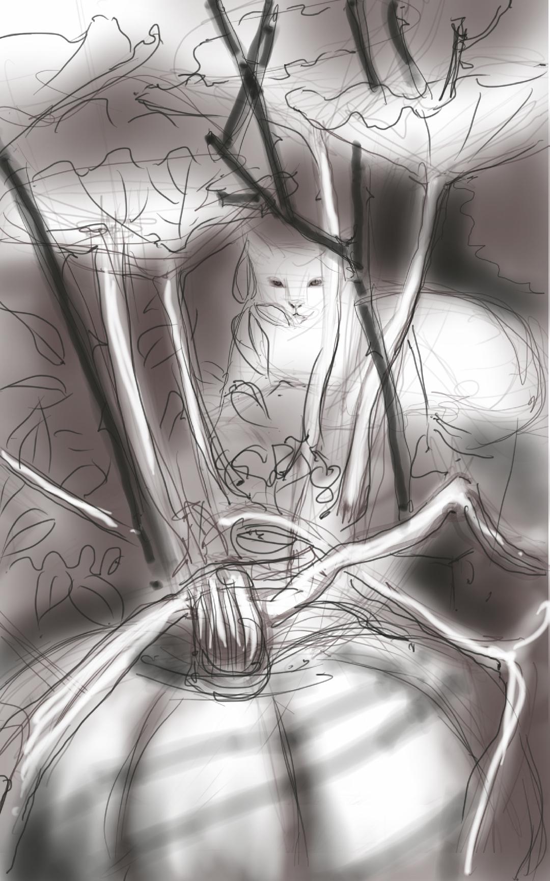 Guardian of the Pumpkin - work-in-progress