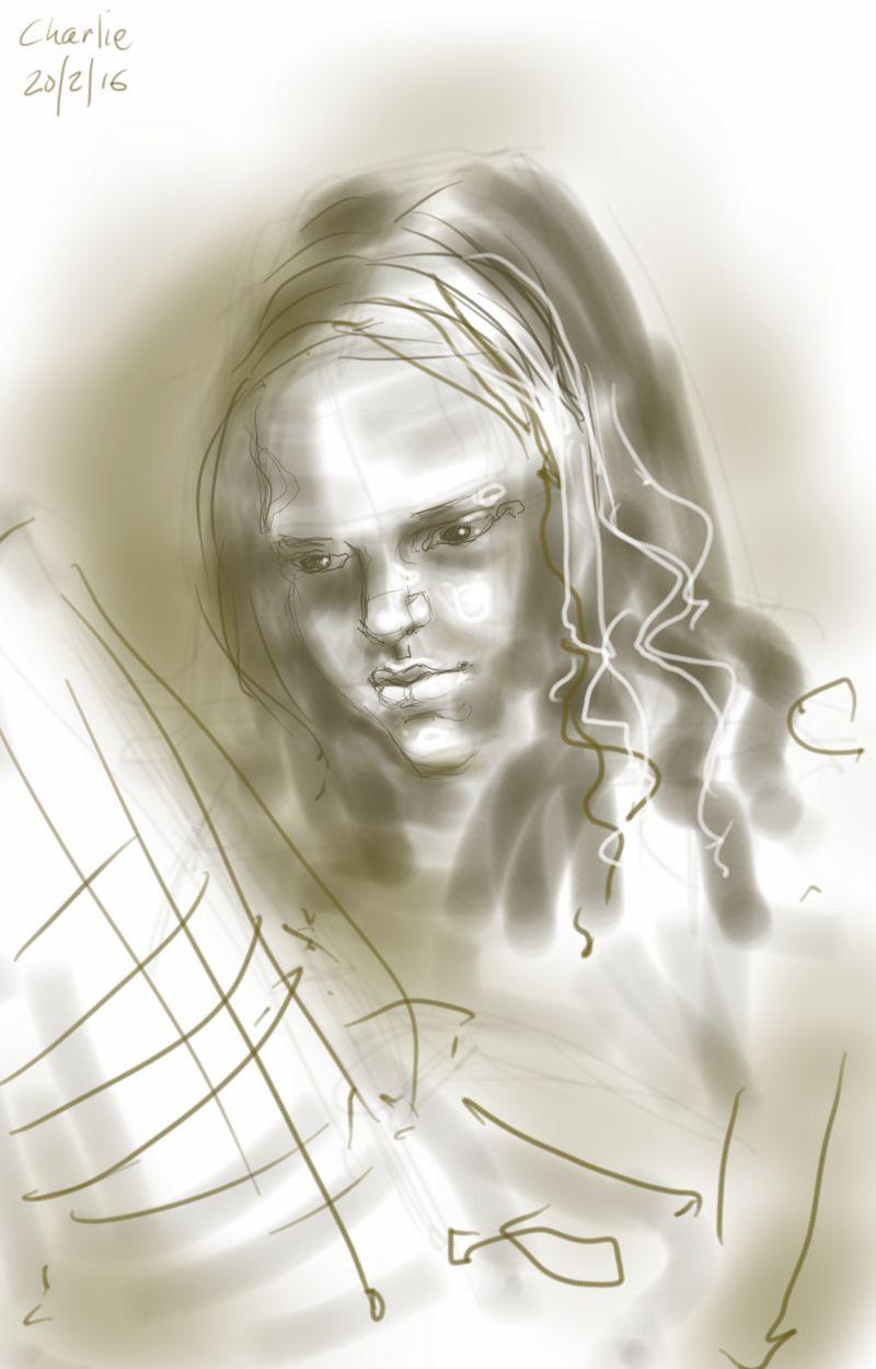 Charlie sketch