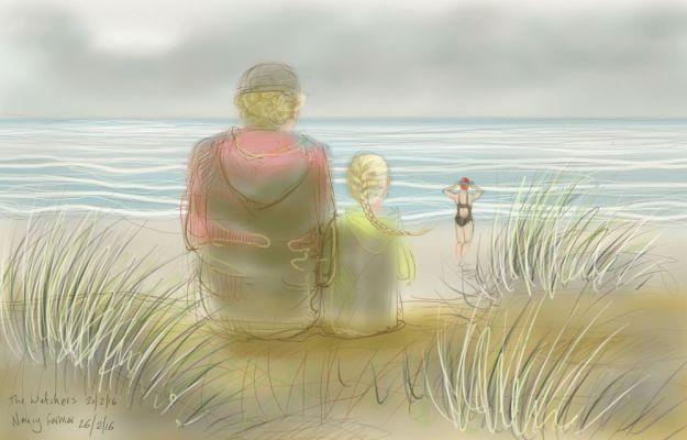 The Watchers on the Norfolk coast