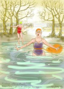 Ullswater, 2nd May, 2017: last cold swim till November