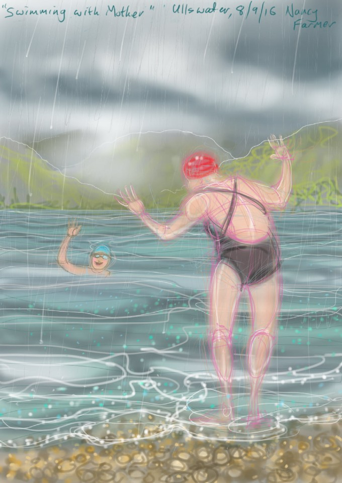 Swimming with Mother