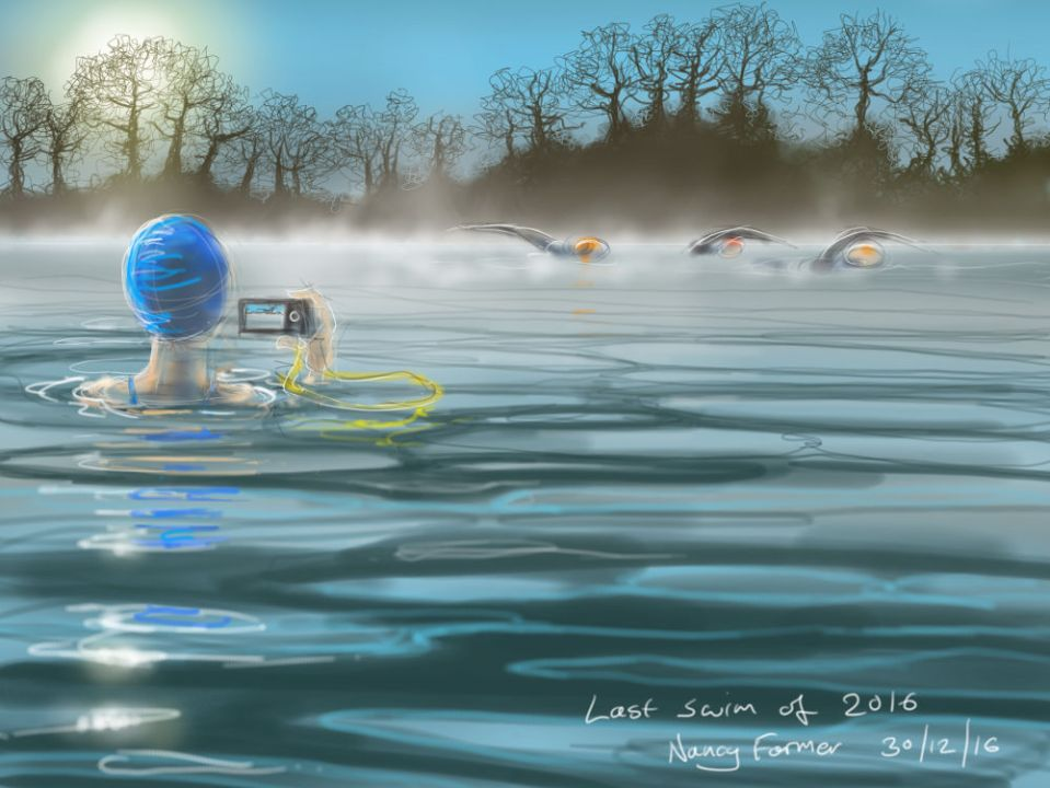 Last Swim of 2016