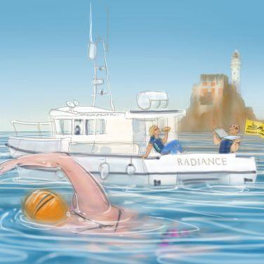 Maeve Mulcahy - Fastnet to Baltimore swim