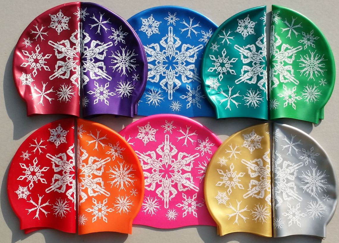 Swimflakes swimming hats