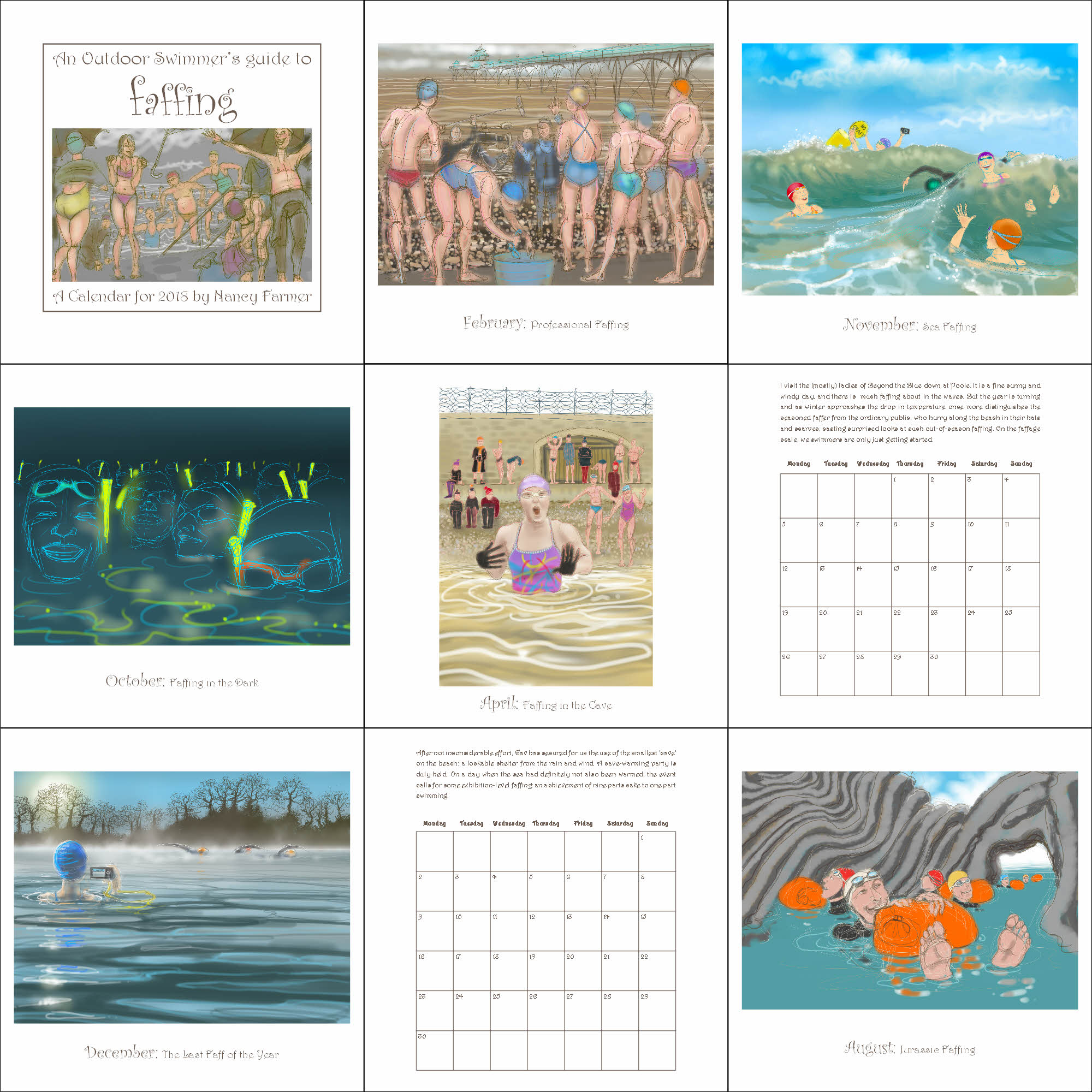 The 2018 calendar is here!