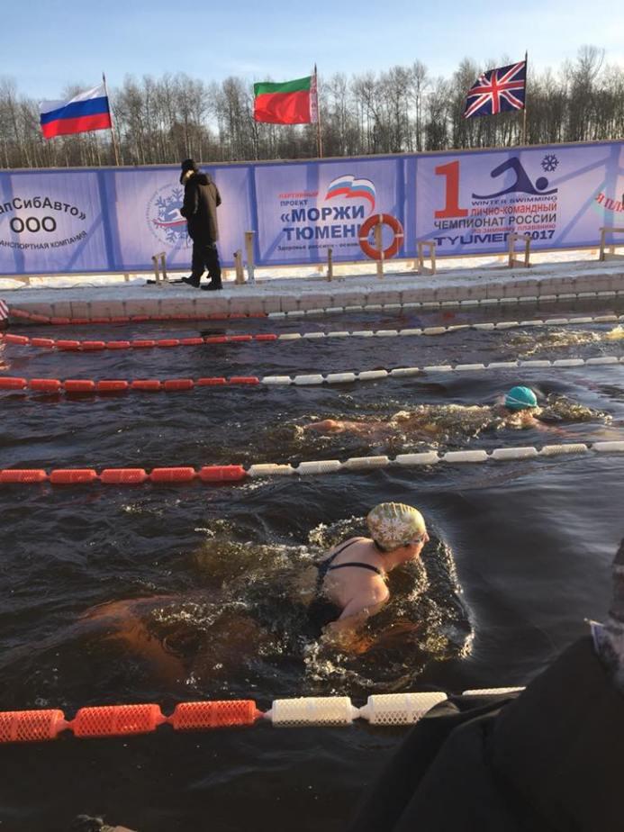 Jackie Risman in Siberia