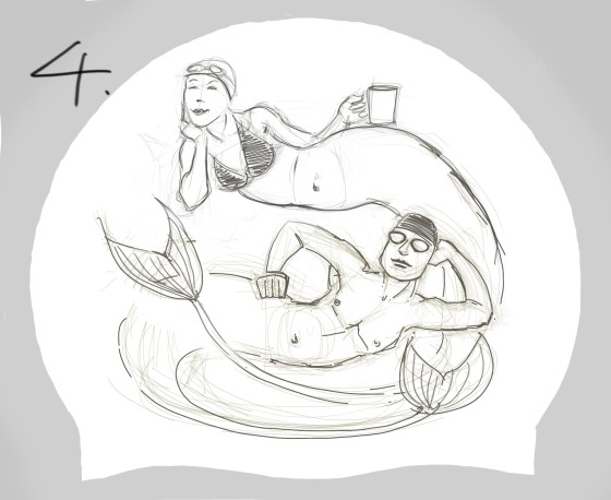 mermaid hat 4