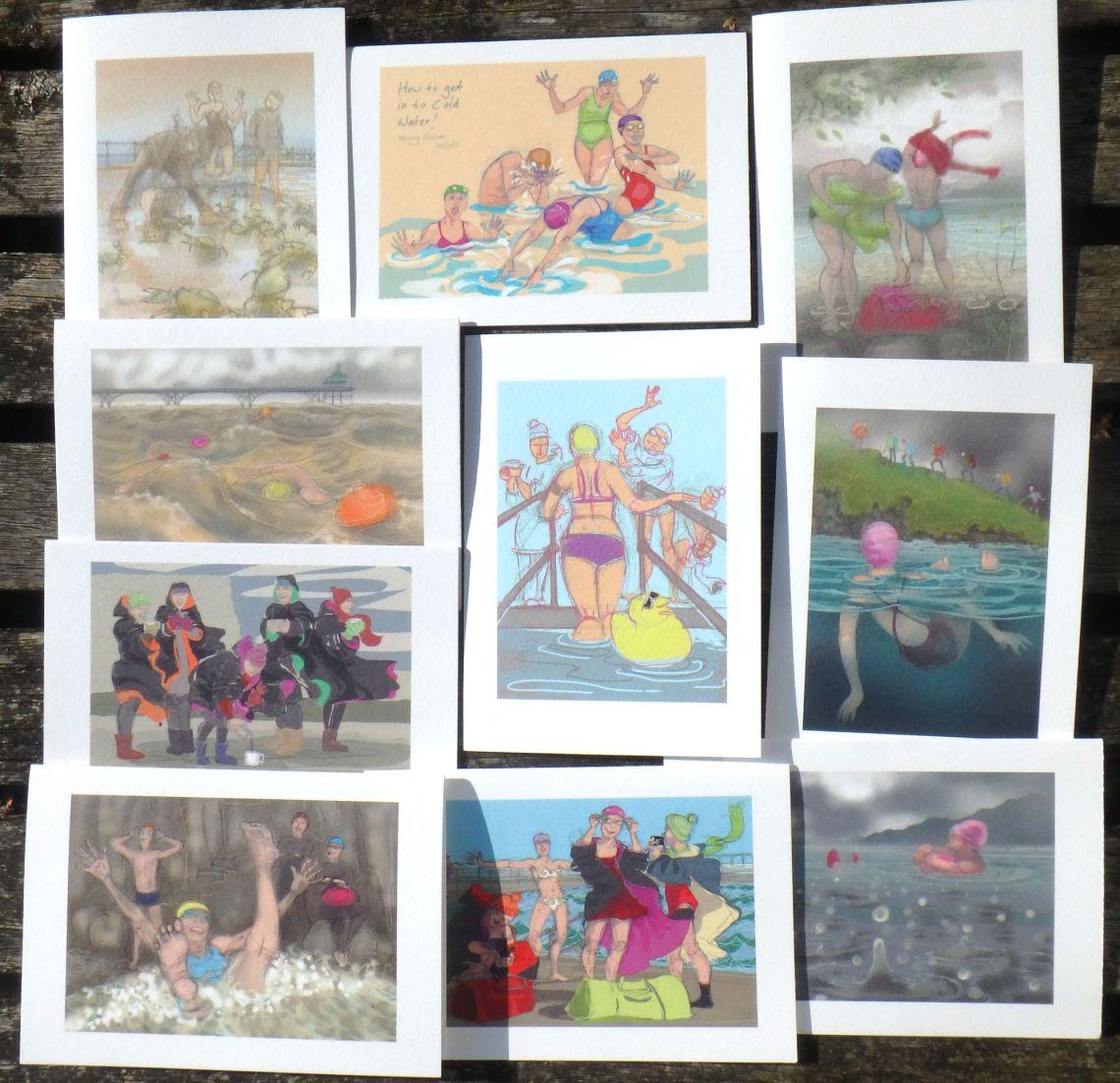 new greetings cards by Nancy Farmer