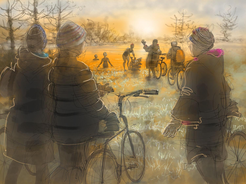 The Oxfordshire Winter Pod