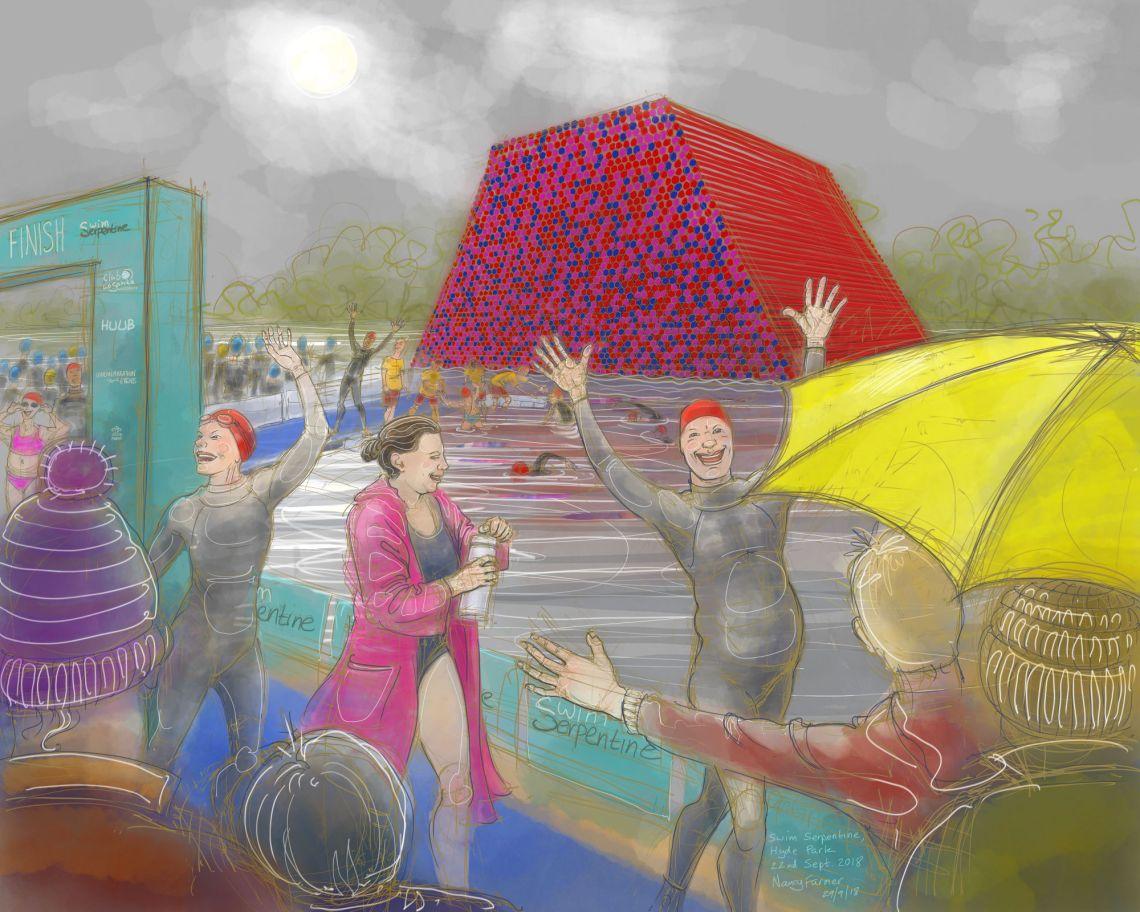 Swim Serpentine, 22nd September 2018