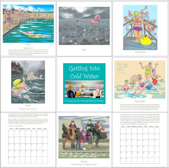 2019 Calendar - a few pages
