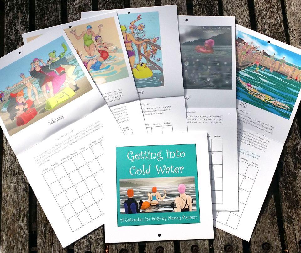 Nancy Farmer 2019 Swimming calendar