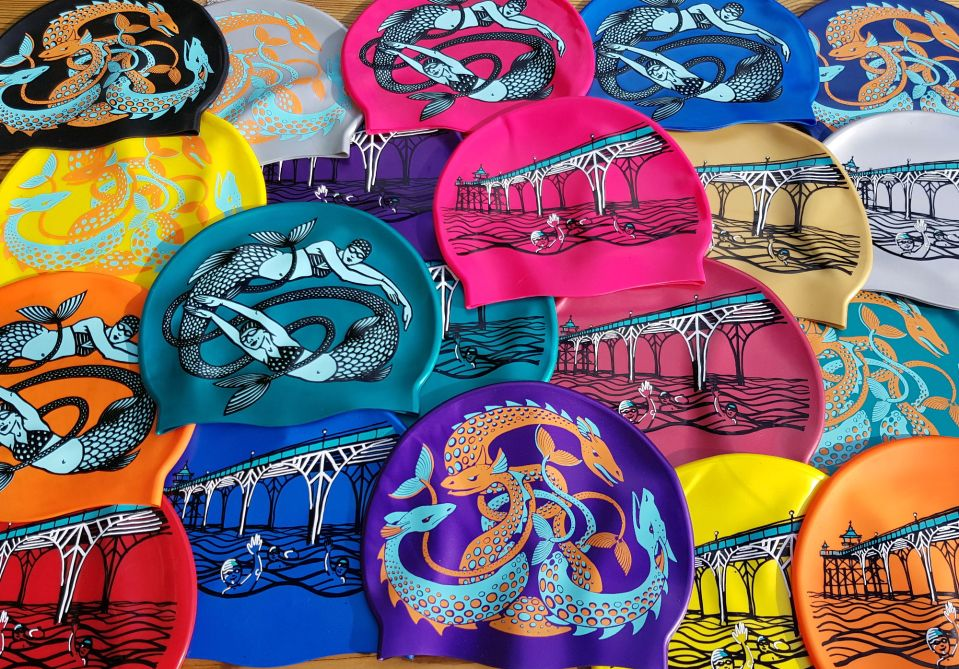 Swim Hats by Nancy Farmer