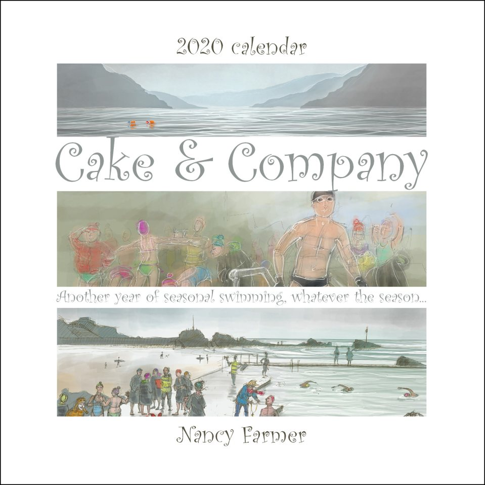 2020 calendar by Nancy Farmer - front cover