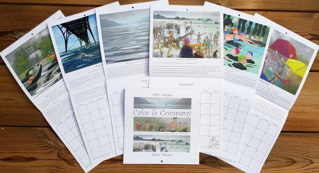 2020 calendar by Nancy Farmer